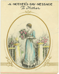 Hallmark Mother's Day card from 1920s