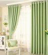 Green Little Star High-end Blackout Curtains