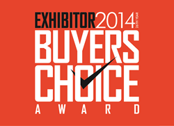 EXHIBITOR2014 Buyers Choice Award