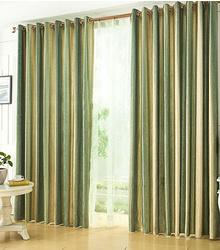 Lightinhome now unveils its horizontal striped curtains