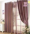 Purple Ombre Two Panels Striped Curtains for Living Room
