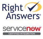 RightAnswers is Certified ServiceNow Integration