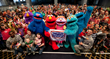 Elmo and Friends Kick Off Seven-Month Sesame Street/USO Tour and Take...