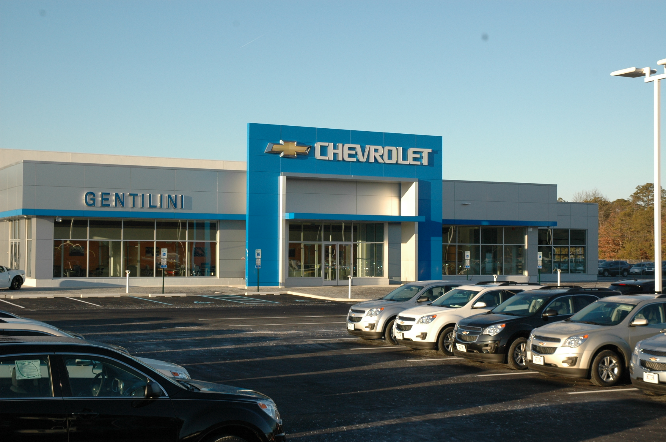 gentilini motors opens new chevrolet dealership in south jersey. Black Bedroom Furniture Sets. Home Design Ideas