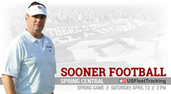 US Fleet Tracking Presents the 2014 University of Oklahoma Spring Football Game