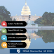 MOAA Storms the Hill and Testifies in Support of the All-Volunteer...