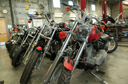 Salt Lake Community College is hosting a motorcycle safety event at its Taylorsville Redwood Campus.