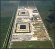 Test cells, designed by Stanley Consultants, allowed evaluation of seepage design, materials and construction methods, prior to starting the design of the 170,000 acre-foot C-43 reservoir.