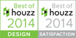 "In 2014, Drury Design received two ""Best Of Houzz"" awards for Customer Satisfaction and Design."