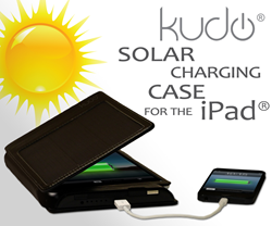 Kudo Solar and Battery Charging Case for the iPad