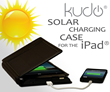 Kudo Receives Granted Patent for Solar Powered iPad Case