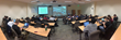 Panoramic view of computer hacking competition