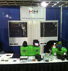 FORC and K&H Communications exhibit the IFS-15H & IFS-10 splicers