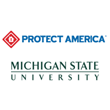 Protect America Home Security and Michigan State University
