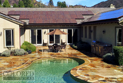 """This customer waited 15+ years for a more aesthetically pleasing solar option than traditional """"black hole"""" roof arrays. He got his wish and his own personal power plant, to boot!"""