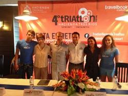 Press Conference 4th Hacienda Tres Rios Triathlon