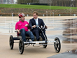 British Royalty Takes a Spin on a Rhoades Car™ Quadracycle