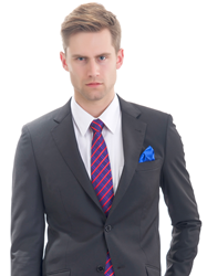 SavileRowOnline.com Cusom Made Gray Suit