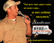 Comedian Kris Rubio of the Laughing with Comics 2014 Comedy Tour