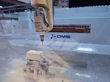 DMS 5 Axis Enclosed Overhead Gantry CNC Router Closeup
