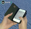 RF Safe Cell Phone Flip Case for iPhone 4 with Peel-n-Shield Radiation Protecion