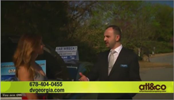Diminished Value of GA's senior car appraiser Tony Rached on Atlanta & Company TV program.