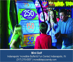 Miniature Golf in Indianapolis - Indianapolis' Incredible Buffet and Fun Center