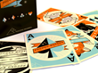 Pocono Modern Mid-Century Inspired Playing Cards