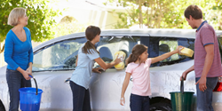 Pledge a Green Resolution on Earth Day by washing the car at home with Washdrops.