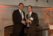 Rep. David Valadao (left) receives the 2014 Visionary Award from CHI President and CEO Todd Gillenwater (right).