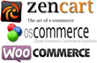 Zen Cart Vs. osCommerce Vs. WooCommerce 2014 From ThreeHosts.com
