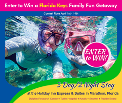 Florida Keys Fun Family Getaway Contest at Holiday Inn Express & Suites, Marathon, Florida