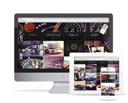 Gumball 3000 website by Rawnet.com