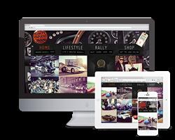 Gumball 3000 website by Rawnet.com