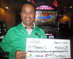 Jackpot Winner - Amancio G.