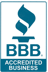 Better Business Bureau Accreditation assures homeowners that Giroud Tree and Lawn meets BBB standards for trustworthiness