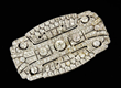 Edwardian Diamond and Platinum Brooch