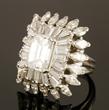 Ladies Diamond and Platinum Ring