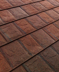 Metstar Innovative Slate MF Plus 3-Tone Teak Shingle
