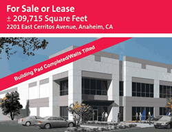 Southern California environmental engineering firm, Terra-Petra completes 2201 E. Cerritos Ave. project for Western Realco