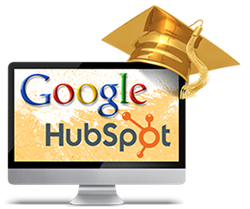 Google + Hubspot Internet Marketing Class