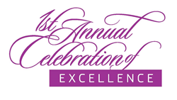 1st Annual Celebration of Excellence logo