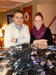 Robbie and Brittany Bergquist, co-founders of Cell Phones For Soldiers, celebrate 10 years of serving troops and veterans.