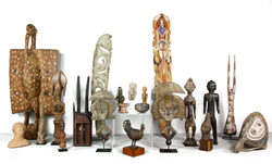 Select items from the collection of Freida and Milton Rosenthal