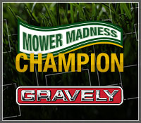 Mower Madness Tournament Champion at Mowers Direct