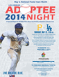 Mixed Roots Foundation Official Flyer - LA Dodgers Adoptee Night 2014