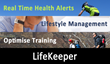 LifeKeeper Functionalies: Real-Time Health Alerts, Lifestyle Management and Smart Training