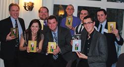 Company 119 celebrates their nine APEX awards.