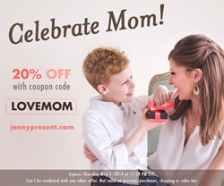jenny present® Mother's Day Coupon