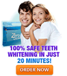 Zero Peroxide Teeth Whitener Now Works Faster with the New 20-Minute...